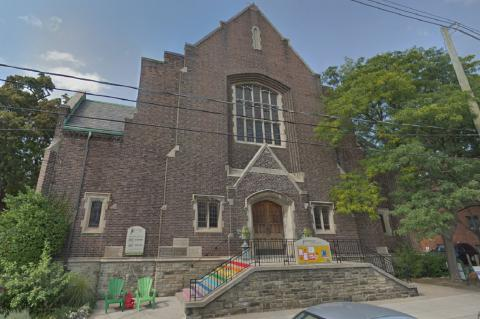Roncesvalles United Church in Toronto