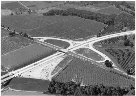 historic photo of the QEW highway