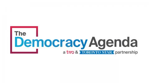 Logo: The Democracy Agenda, a TVO & Toronto Star partnership