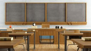 empty classroom from the article I've seen anti-Black racism from both sides of the teacher's desk