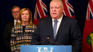 Doug Ford from the article Why ending Ontario's state of emergency won't make everything normal again
