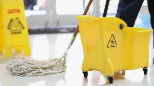 janitor from the article Back to school, Part 4: A custodian on reopening safely