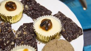 a plate of desserts from the article Getting past the 'ick' factor: Ontario acquires a taste for crickets