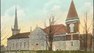church in Hamilton from the article How Ontarians came together to fight the Spanish flu