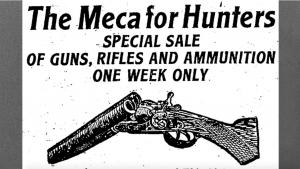 An advertisement that appeared in the October 22, 1904, edition of the Toronto Daily Star from the article How Ontario led the way on gun control for all the wrong reasons