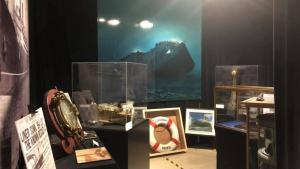 a room full of nautical objects and a photo of a ship from the article A tax break for your staycation? Not quite yet