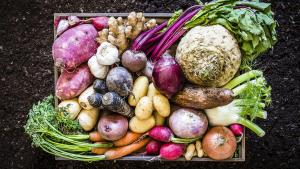 a box of vegetables from the article How COVID-19 could forever change the way Ontarians buy food