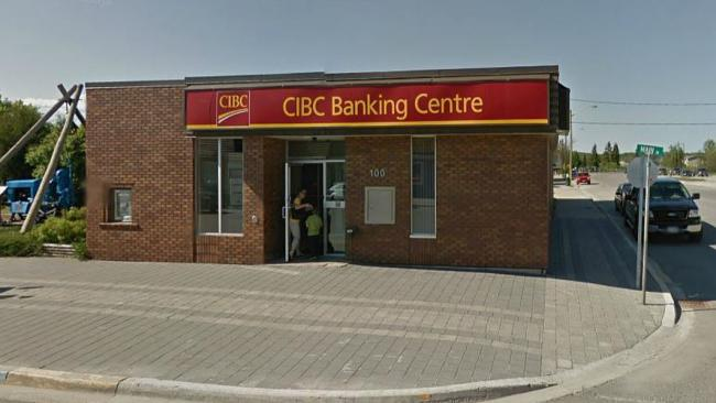 a rural CIBC branch