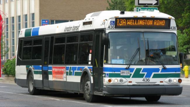 London, Ontario transit bus
