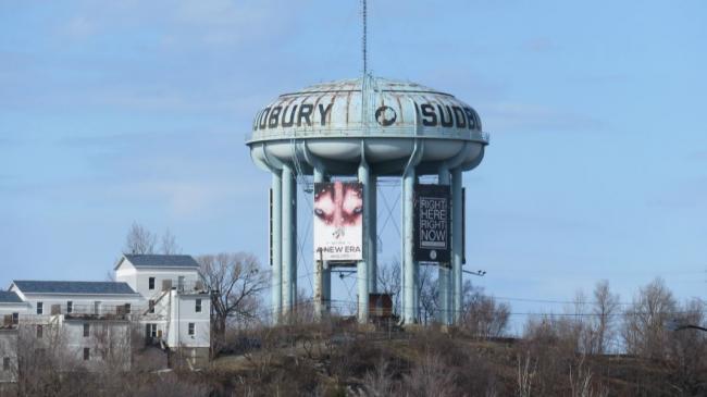 Sudbury, Ontario water tower
