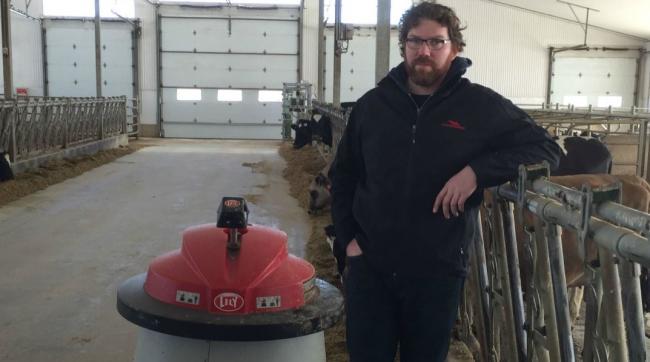 an Ontario dairy farmer