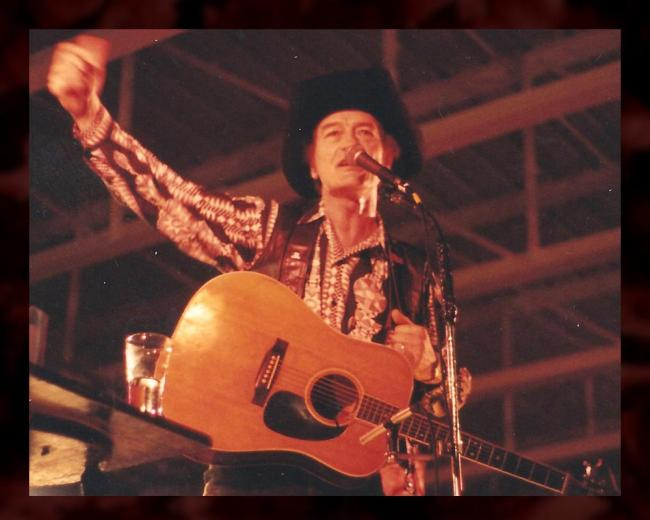 Throughout his life, Stompin' Tom Connors weaved local history and legend into his songs to tell distinctly Canadian stories (Courtesy of Stompin' Tom Ltd.)