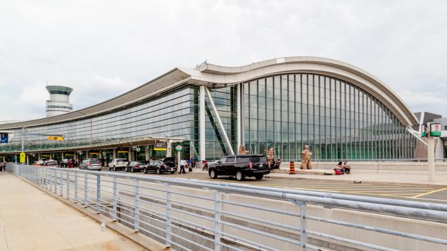 Pearson Airport in Toronto