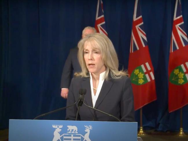 Minister of Long-Term Care Merrilee Fullerton