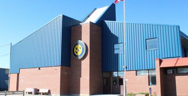 exterior shot of a school building