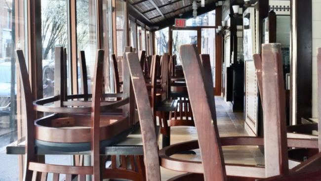 chairs in a restaurant