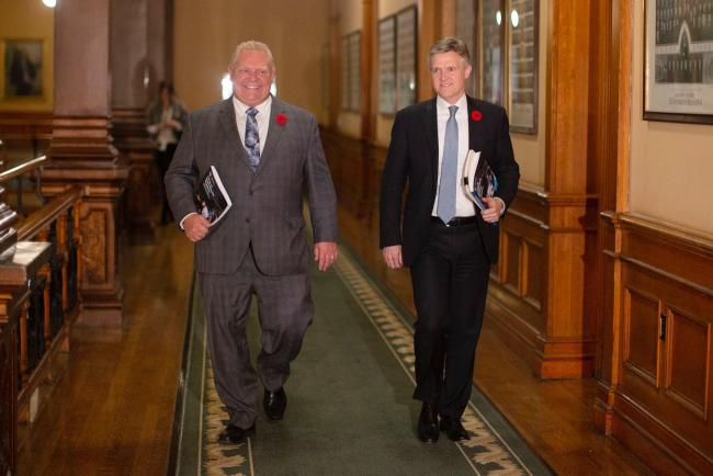 Doug Ford and Rod Phillips
