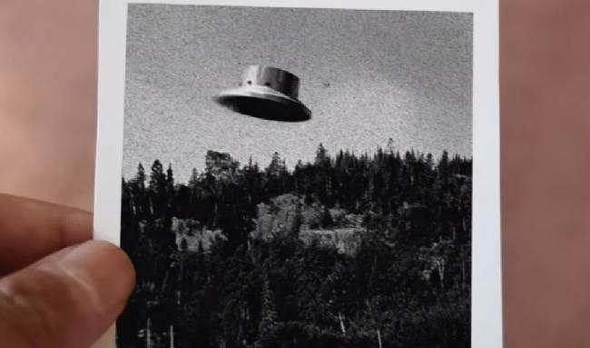 a photo of a UFO
