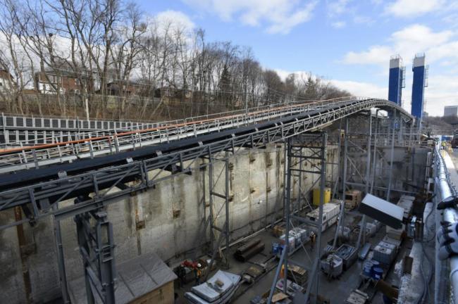 Eglinton Crosstown LRT construction in Toronto