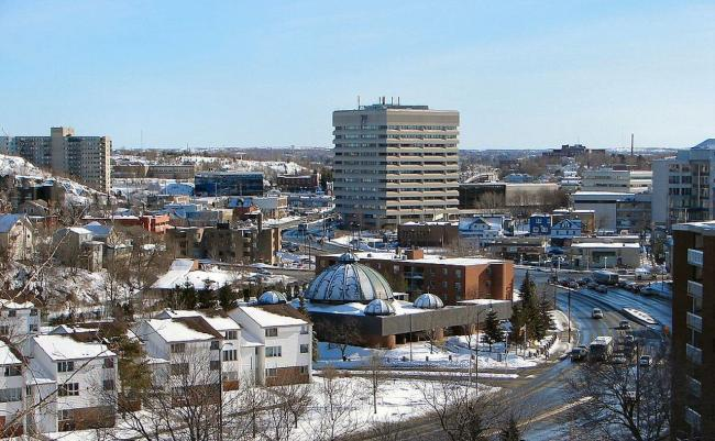view of the city of Sudbury