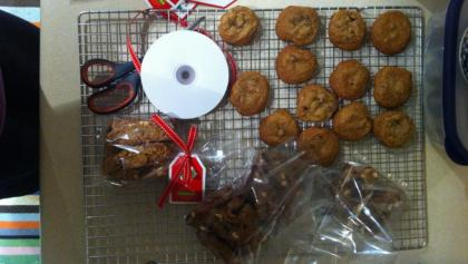 Cookies on a tray from the article Reclaiming the holiday gift-giving frenzy