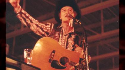Throughout his life, Stompin' Tom Connors weaved local history and legend into his songs to tell distinctly Canadian stories (Courtesy of Stompin' Tom Ltd.) from the article How Timmins gave Stompin' Tom Connors his first break
