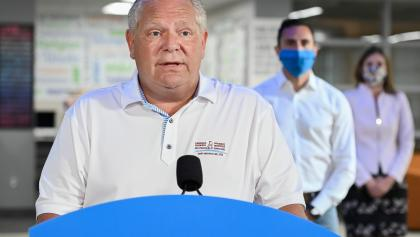 Doug Ford from the article Yes, Premier Ford, it's your school-reopening plan