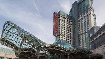 exterior of a casino from the article Did municipalities bet too big on casinos?