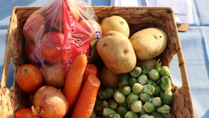 a box of fresh fruit and vegetables from the article How a 'miracle market' is bringing fresh fruit and veg to Chatham-Kent residents
