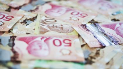 a selection of Canadian bills from the article Basic income would be the biggest reordering of public finance in a generation