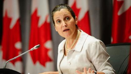 Chrystia Freeland from the article TVO.org daily: Saturday, August 8