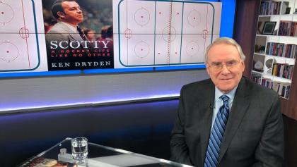 Ken Dryden from the article Looking back on a hockey dream that almost came true