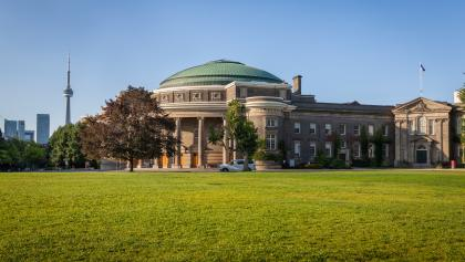 a large domed building  from the article How universities sprang into action in a COVID-19 world